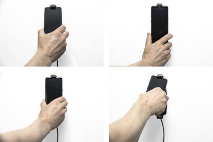 Inštalácia produktu Aktívny držiak pre Samsung Galaxy S9/S8 s puzdrom s Molex kon.. Krok 3.