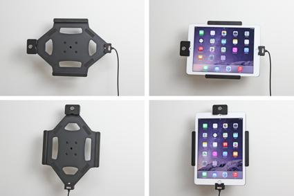 Inštalácia produktu Aktívny držiak pre Apple iPad Air 2/Pro 9.7 s uzamykaním Molex. Krok 4.