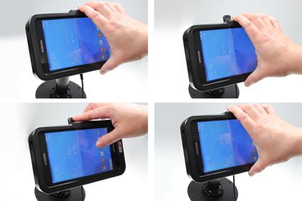 Inštalácia produktu Odolné puzdro HD pre Samsung Galaxy Tab 4 7.0 USB+CL. Krok 3.