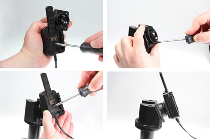 Inštalácia produktu Odolné puzdro HD pre Samsung Galaxy Tab A 9.7 T550 USB+CL. Krok 2.