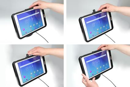Inštalácia produktu Odolné puzdro HD pre Samsung Galaxy Tab A 9.7 T550 USB+CL. Krok 3.
