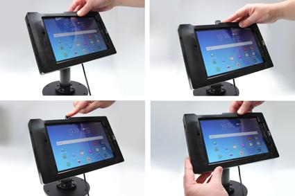 Inštalácia produktu Odolné puzdro pre Samsung Galaxy Tab E 8.0 USB+CL. Krok 3.