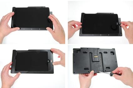 Inštalácia produktu Odolné puzdro pre LG G Pad X 8.3 USB+CL Krok 1.