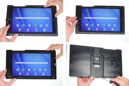 Inštalácia produktu Odolné puzdro pre Samsung Galaxy Tab A 10.1 2016 USB+CL Krok 1.