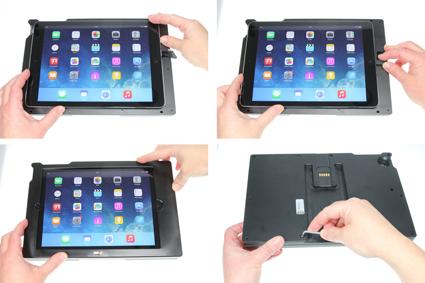 Inštalácia produktu Odolné puzdro pre Apple iPad Air/iPad 9.7 New USB+CL Krok 1.