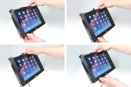Inštalácia produktu Odolné puzdro pre Apple iPad Air/iPad 9.7 New USB+CL. Krok 3.