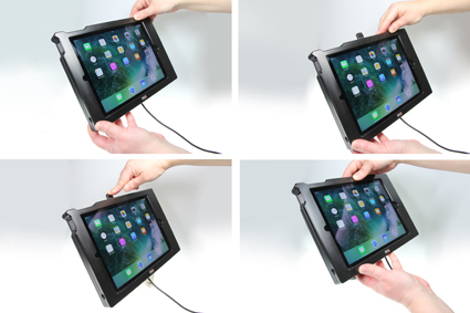 Inštalácia produktu Odolné puzdro pre Apple iPad Air 2 USB+CL. Krok 3.