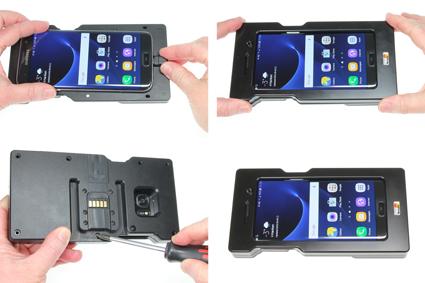 Inštalácia produktu Odolné puzdro pre Samsung Galaxy S7 Edge G935 USB+CL Krok 1.