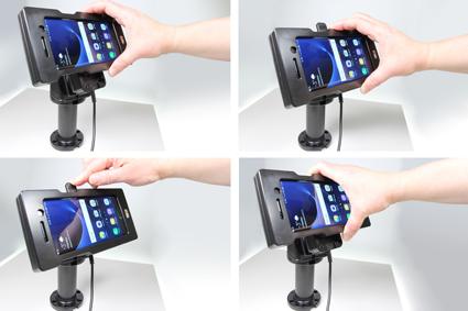 Inštalácia produktu Odolné puzdro pre Samsung Galaxy S7 Edge G935 USB+CL. Krok 3.