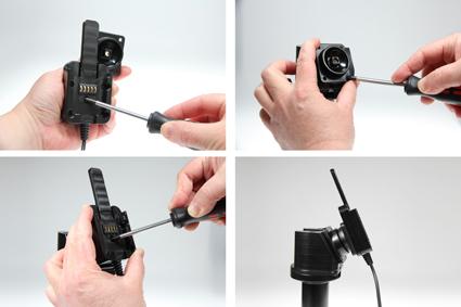Inštalácia produktu Odolné puzdro HD pre Samsung Galaxy Tab E 9.6 T560 Molex. Krok 2.