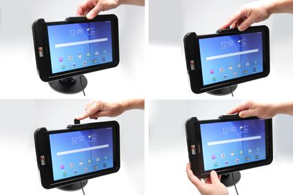 Inštalácia produktu Odolné puzdro HD pre Samsung Galaxy Tab E 9.6 T560 Molex. Krok 3.