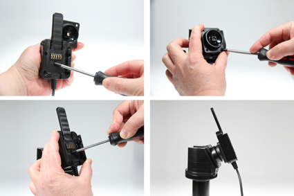 Inštalácia produktu Odolné puzdro pre Samsung Galaxy Tab E 8.0 Molex. Krok 2.