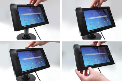 Inštalácia produktu Odolné puzdro pre Samsung Galaxy Tab E 8.0 Molex. Krok 3.