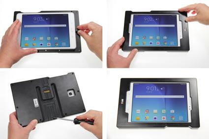 Inštalácia produktu Odolné puzdro pre Samsung Galaxy Tab A 8.0 Molex Krok 1.