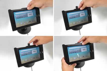 Inštalácia produktu Odolné puzdro pre LG G Pad F 8.0 Molex. Krok 3.
