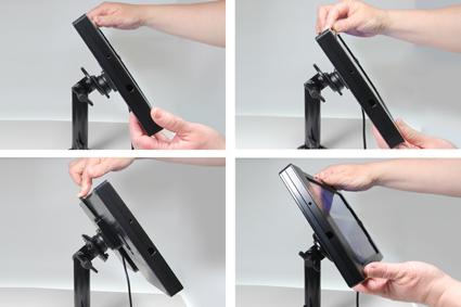 Inštalácia produktu Odolné puzdro pre Samsung Galaxy A 10.1 2016 Molex. Krok 3.