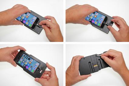Inštalácia produktu Odolné puzdro pre Apple iPhone 7/6/6S Molex Krok 1.