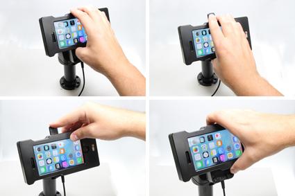 Inštalácia produktu Odolné puzdro pre Apple iPhone 7/6/6S Molex. Krok 3.