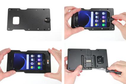 Inštalácia produktu Odolné puzdro pre Samsung Galaxy S7 G930 Molex Krok 1.