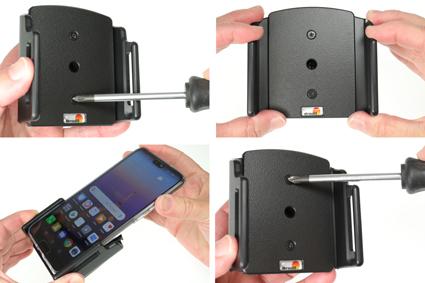 Inštalácia produktu Pasívny držiak pre Huawei P20 s orig. puzdrom Krok 1.