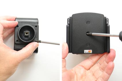 Inštalácia produktu Pasívny držiak pre Huawei P20 s orig. puzdrom. Krok 3.