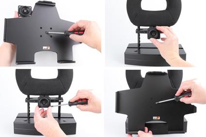Inštalácia produktu Pasívny držiak do auta pre Apple iPad Pro 12.9 2018/ 2020 Krok 1.