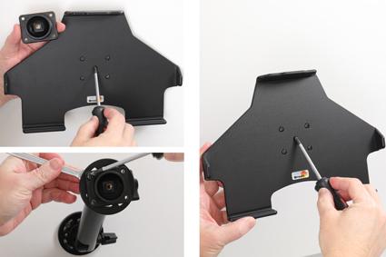 Inštalácia produktu Pasívny držiak do auta pre Apple iPad 10.2 Krok 1.