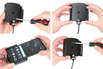 Inštalácia produktu Aktívny držiak pre Huawei Mate 10 Pro Krok 1.
