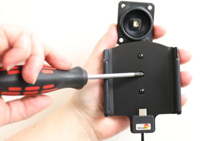 Inštalácia produktu Aktívny držiak pre Huawei P10 Plus s Molex kon. Krok 1.