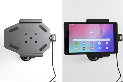 Inštalácia produktu Aktívny držiak pre Samsung Galaxy Tab A 8.0 2019 s Molex kon. Krok 4.