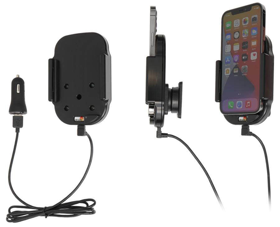718235 Brodit Proclip: Qi wireless active holder with cig
