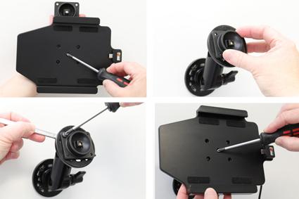 Inštalácia produktu Aktívny držiak do auta pre Huawei MediaPad M5 8.4 USB+CL Krok 1.