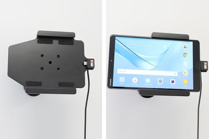 Inštalácia produktu Aktívny držiak do auta pre Huawei MediaPad M5 8.4 USB+CL. Krok 4.