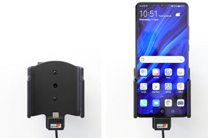 Inštalácia produktu Aktívny držiak pre Huawei P30 Pro USB+CL. Krok 4.