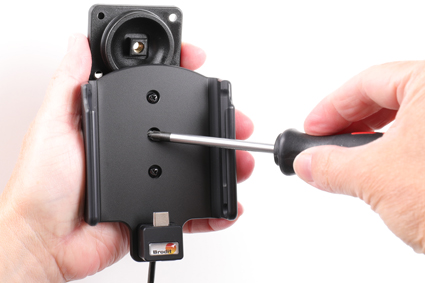 Inštalácia produktu Aktívny držiak pre Samsung Galaxy A20e A202 USB+CL Krok 1.