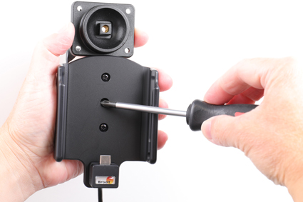 Inštalácia produktu Aktívny držiak pre Samsung Galaxy A40 A405 USB+CL Krok 1.