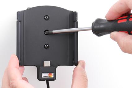Inštalácia produktu Aktívny držiak pre Samsung Galaxy A50 A505 USB+CL. Krok 3.