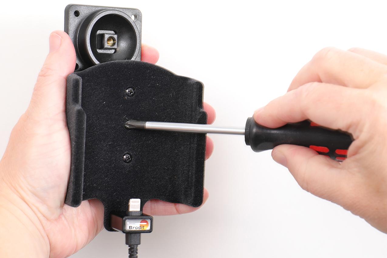 Inštalácia produktu Aktívny držiak pre Apple iPhone 11 Pro Krok 1.