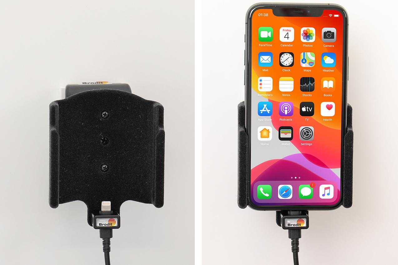 Inštalácia produktu Aktívny držiak pre Apple iPhone 11 Pro. Krok 4.