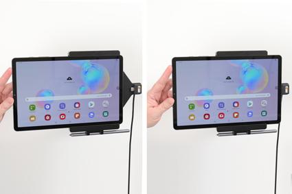Inštalácia produktu Aktívny držiak do auta pre Samsung Galaxy Tab S6 10.5 USB+CL. Krok 2.