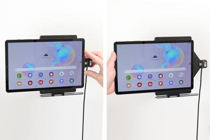Inštalácia produktu Aktívny držiak do auta pre Samsung Galaxy Tab S6 10.5 USB+CL. Krok 3.