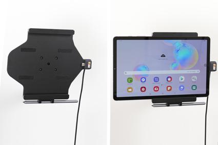 Inštalácia produktu Aktívny držiak do auta pre Samsung Galaxy Tab S6 10.5 USB+CL. Krok 4.