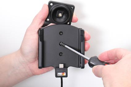 Inštalácia produktu Aktívny držiak pre Samsung Galaxy Xcover Pro G715 USB+CL Krok 1.