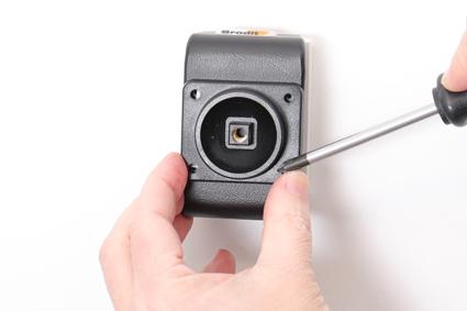 Inštalácia produktu Aktívny držiak pre Samsung Galaxy Xcover Pro G715 USB+CL. Krok 2.