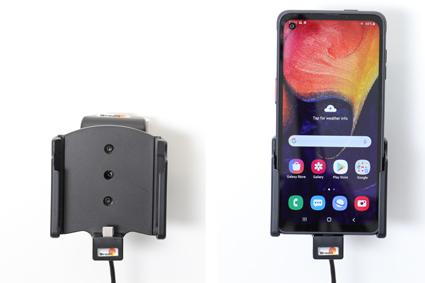 Inštalácia produktu Aktívny držiak pre Samsung Galaxy Xcover Pro G715 USB+CL. Krok 4.
