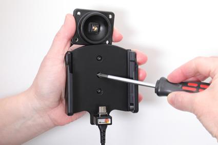 Inštalácia produktu Aktívny držiak pre Samsung Galaxy Xcover Pro G715 USB+CL Magnet. Krok 2.