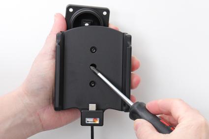 Inštalácia produktu Aktívny držiak pre Samsung Galaxy S20/S21 Ultra G988 USB+CL Krok 1.