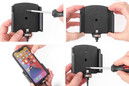 Inštalácia produktu Aktívny držiak pre Apple iPhone 12/12 Pro/Max s puzdrom Krok 1.