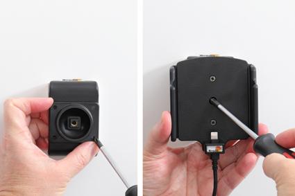Inštalácia produktu Aktívny držiak pre Apple iPhone 12/12 Pro/Max s puzdrom. Krok 3.