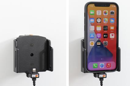 Inštalácia produktu Aktívny držiak pre Apple iPhone 12/12 Pro/Max s puzdrom. Krok 4.